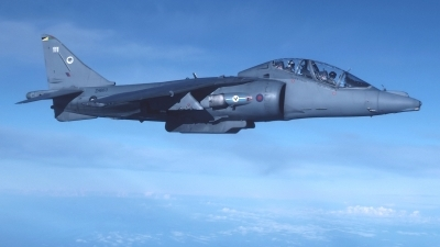 Photo ID 216182 by Peter Boschert Slide Collection. UK Air Force British Aerospace Harrier T 10, ZH663
