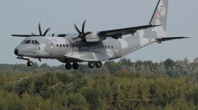 Photo ID 216217 by kristof stuer. Poland Air Force CASA C 295M, 023