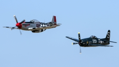 Photo ID 216338 by W.A.Kazior. Private Commemorative Air Force Grumman F8F 2P Bearcat, N7825C