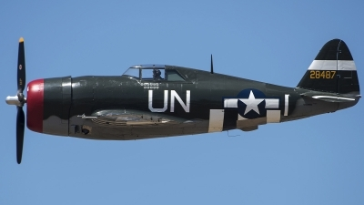 Photo ID 216221 by W.A.Kazior. Private Planes of Fame Air Museum Republic P 47G Thunderbolt, N3395G