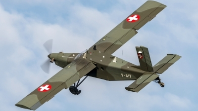 Photo ID 216286 by Martin Thoeni - Powerplanes. Switzerland Air Force Pilatus PC 6 B2 H2M 1 Turbo Porter, V 617