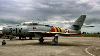 Photo ID 216252 by Alex Staruszkiewicz. France Air Force Republic F 84F Thunderstreak, 28946