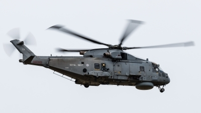 Photo ID 216257 by Mike Macdonald. UK Navy Agusta Westland Merlin HM1 Mk111, ZH846