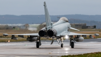 Photo ID 216258 by Mike Macdonald. UK Air Force Eurofighter Typhoon FGR4, ZK317