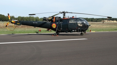 Photo ID 216291 by Sybille Petersen. Belgium Navy Aerospatiale SA 316B Alouette III, M 2