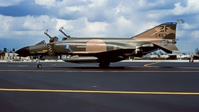 Photo ID 216295 by Gerrit Kok Collection. USA Air Force McDonnell Douglas F 4D Phantom II, 66 7463