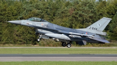 Photo ID 216329 by Dieter Linemann. Netherlands Air Force General Dynamics F 16AM Fighting Falcon, J 644