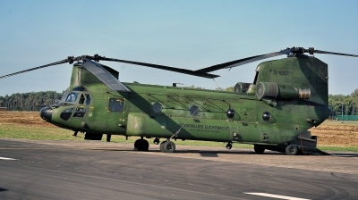 Photo ID 216335 by Alex Staruszkiewicz. Netherlands Air Force Boeing Vertol CH 47D Chinook, D 667