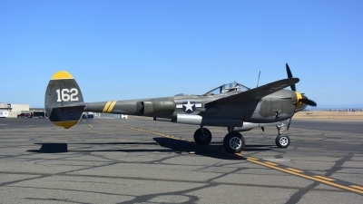 Photo ID 216342 by Ray Orgunwall. Private Planes of Fame Air Museum Lockheed P 38J Lightning, N138AM