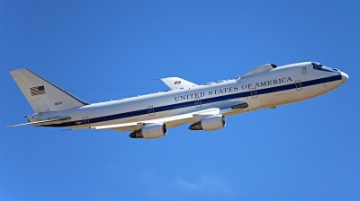 Photo ID 216347 by Talbert Reese. USA Air Force Boeing E 4B 747 200B, 73 1676