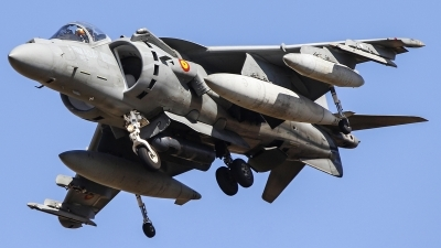Photo ID 216467 by Ruben Galindo. Spain Navy McDonnell Douglas EAV 8B Harrier II, VA 1B 27