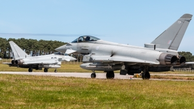 Photo ID 216436 by Mike Macdonald. UK Air Force Eurofighter Typhoon FGR4, ZK337