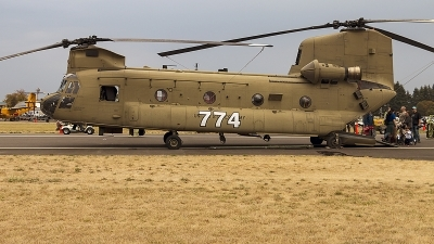 Photo ID 216567 by Aaron C. Rhodes. USA Army Boeing Vertol CH 47F Chinook, 08 08774