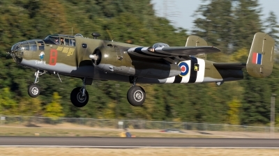 Photo ID 216581 by Colin Moeser. Private Historic Flight Foundation North American B 25D Mitchell, N88972