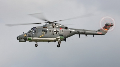 Photo ID 216668 by Dieter Linemann. Germany Navy Westland WG 13 Super Lynx Mk88A, 83 06