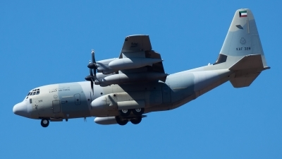 Photo ID 216639 by Stathis Panagiotopoulos. Kuwait Air Force Lockheed Martin KC 130J Hercules L 382, KAF328