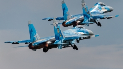 Photo ID 216713 by Kris Christiaens. Ukraine Air Force Sukhoi Su 27P1M,
