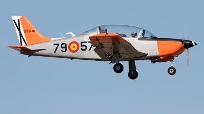 Photo ID 216801 by F. Javier Sánchez Gómez. Spain Air Force Enaer T 35C Pillan, E 26 10