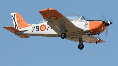 Photo ID 216802 by F. Javier Sánchez Gómez. Spain Air Force Enaer T 35C Tamiz, E 26 28