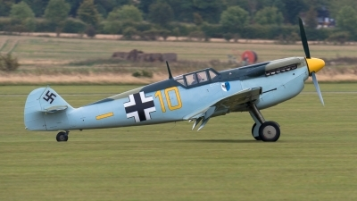 Photo ID 216816 by Hans Rödel. Private Private Hispano HA 1112 M1L Buchon, G AWHK