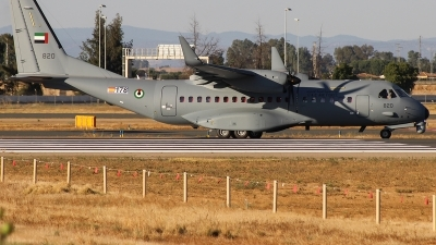 Photo ID 216849 by Hugo Ferreiro. United Arab Emirates Air Force CASA C 295MW, EC 178