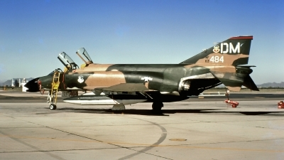 Photo ID 216910 by Gerrit Kok Collection. USA Air Force McDonnell Douglas F 4C Phantom II, 63 7484