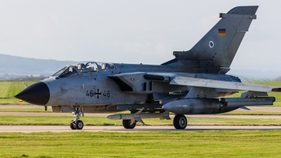 Photo ID 216897 by Mike Macdonald. Germany Air Force Panavia Tornado ECR, 46 46