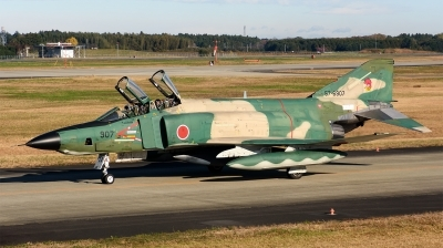 Photo ID 216966 by Mark Munzel. Japan Air Force McDonnell Douglas RF 4E Phantom II, 57 6907