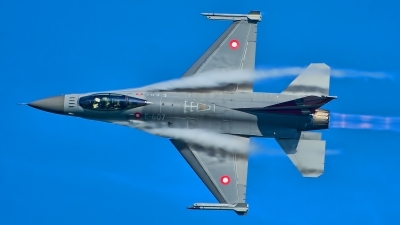 Photo ID 216999 by Radim Spalek. Denmark Air Force General Dynamics F 16AM Fighting Falcon, E 607