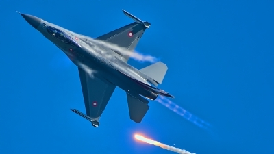 Photo ID 217000 by Radim Spalek. Denmark Air Force General Dynamics F 16AM Fighting Falcon, E 607