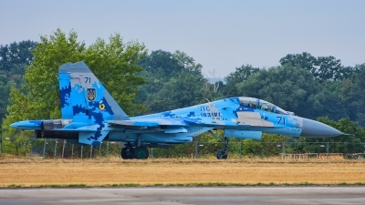 Photo ID 217062 by Radim Spalek. Ukraine Air Force Sukhoi Su 27UB1M, B 1831M1