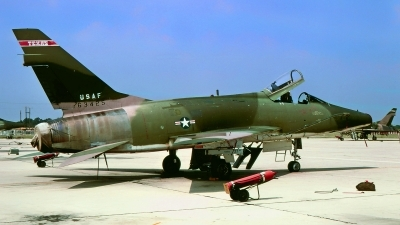 Photo ID 217132 by Gerrit Kok Collection. USA Air Force North American F 100D Super Sabre, 56 3425