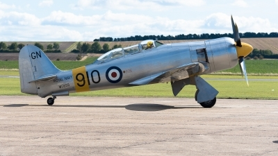 Photo ID 217107 by Hans Rödel. Private The Fighter Collection Hawker Sea Fury T20, G CHFP