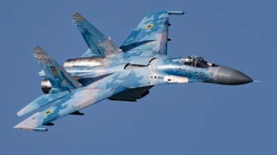 Photo ID 217100 by David Novák. Ukraine Air Force Sukhoi Su 27P1M,
