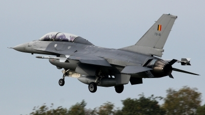 Photo ID 217129 by kristof stuer. Belgium Air Force General Dynamics F 16BM Fighting Falcon, FB 18