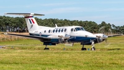 Photo ID 217136 by Mike Macdonald. UK Air Force Beech Super King Air B200, ZK456