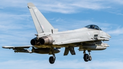 Photo ID 217137 by Mike Macdonald. UK Air Force Eurofighter Typhoon FGR4, ZK306