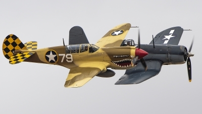 Photo ID 217178 by W.A.Kazior. Private Planes of Fame Air Museum Curtiss P 40N Warhawk, N85104