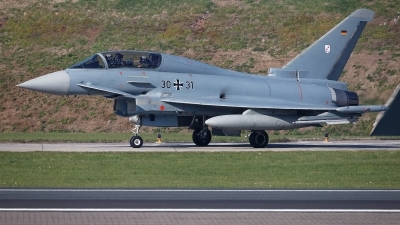 Photo ID 217191 by Rainer Mueller. Germany Air Force Eurofighter EF 2000 Typhoon T, 30 31