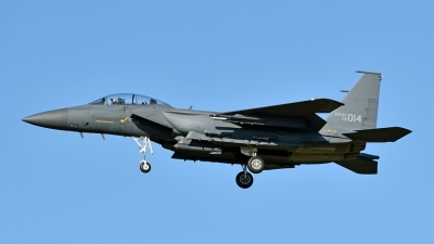 Photo ID 217200 by Marc van Zon. South Korea Air Force Boeing F 15K Slam Eagle, 02 014