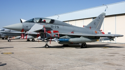 Photo ID 217216 by F. Javier Sánchez Gómez. Spain Air Force Eurofighter CE 16 Typhoon EF 2000T, CE 16 10