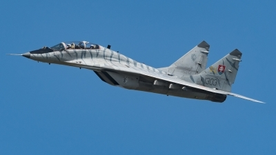 Photo ID 217245 by David Novák. Slovakia Air Force Mikoyan Gurevich MiG 29UBS 9 51, 1303