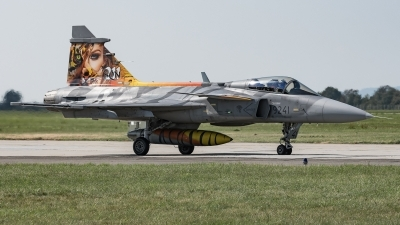 Photo ID 217247 by David Novák. Czech Republic Air Force Saab JAS 39C Gripen, 9241
