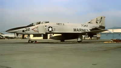 Photo ID 217280 by Gerrit Kok Collection. USA Marines McDonnell Douglas RF 4B Phantom II, 157347