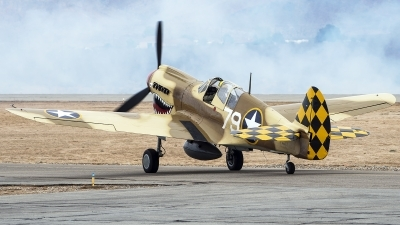 Photo ID 217261 by W.A.Kazior. Private Planes of Fame Air Museum Curtiss P 40N Warhawk, N85104