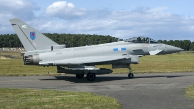 Photo ID 217288 by Joop de Groot. UK Air Force Eurofighter Typhoon FGR4, ZK362