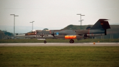 Photo ID 217283 by Alex Staruszkiewicz. Germany Air Force Lockheed F 104G Starfighter, 20 04