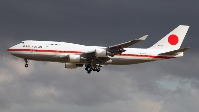 Photo ID 217353 by Carl Brent. Japan Air Force Boeing 747 47C, 20 1102
