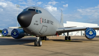 Photo ID 217325 by Brandon Thetford. USA Air Force Boeing KC 135R Stratotanker 717 100, 63 8017