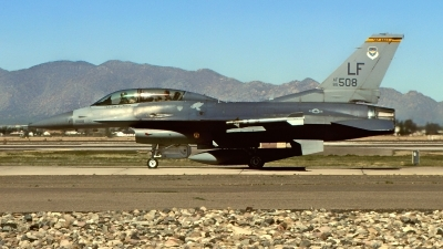 Photo ID 217472 by Gerrit Kok Collection. USA Air Force General Dynamics F 16D Fighting Falcon, 85 1508